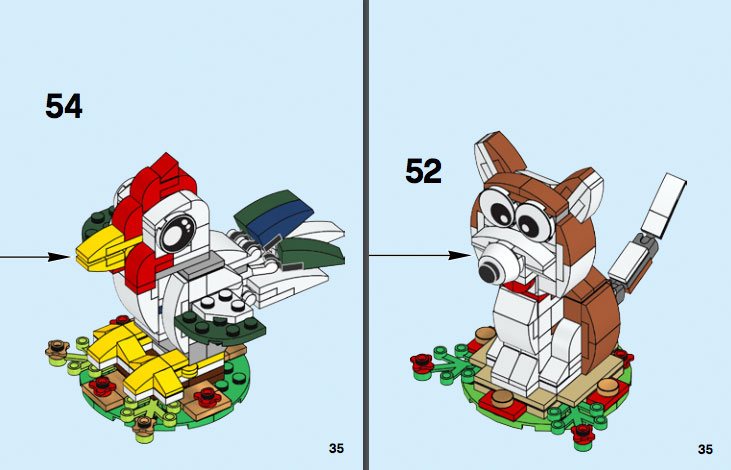 Brickfinder Lego Year Of The Dog 40235 Instructions Now Online