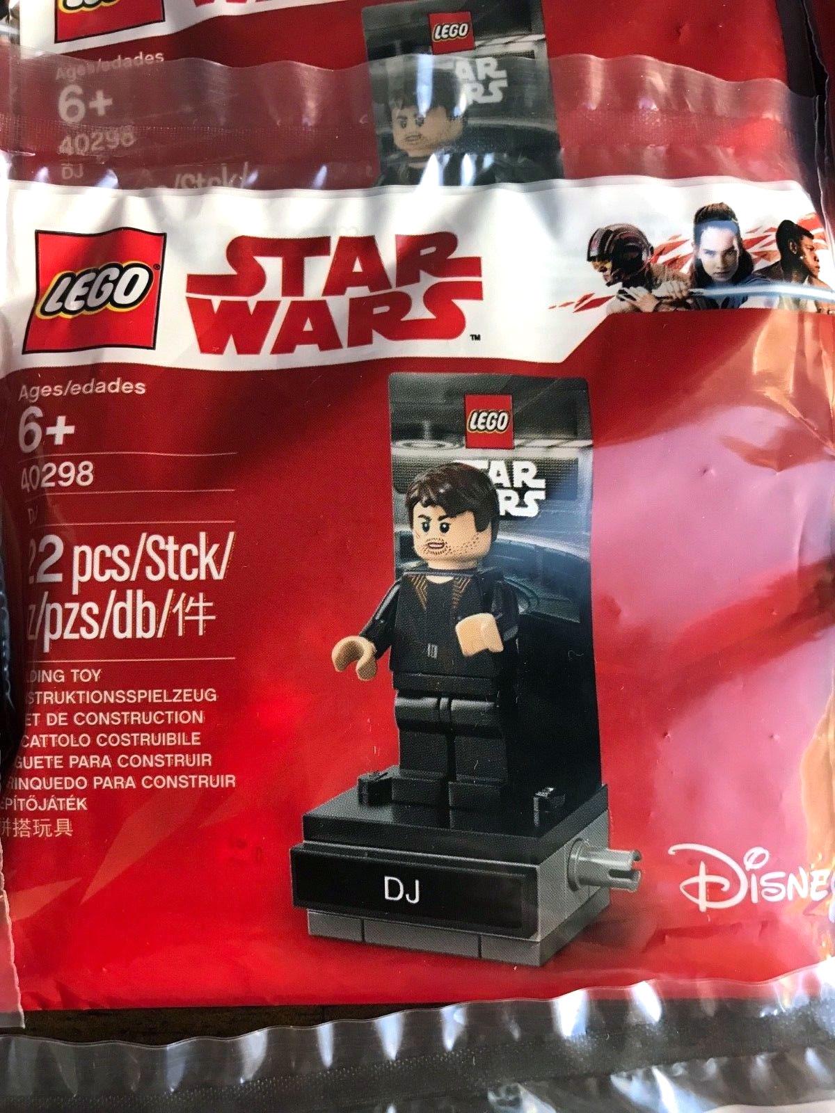 The Last Jedi DJ Minifigure Lego Star Wars
