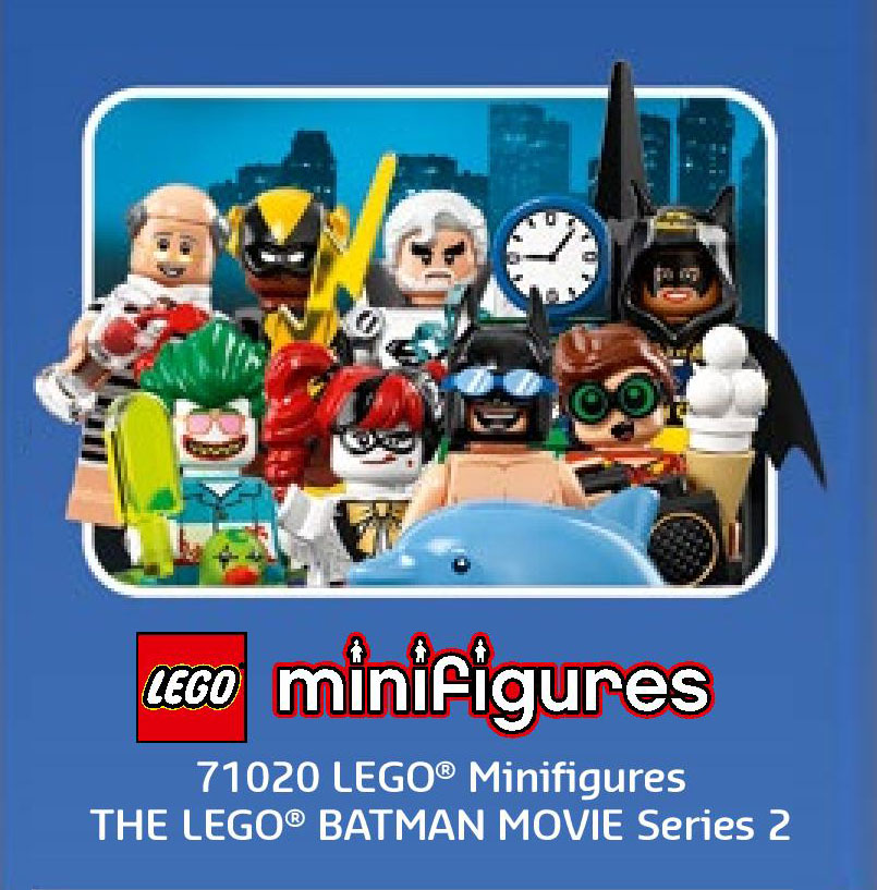 LEGO Batman Movie Minifigures series 2