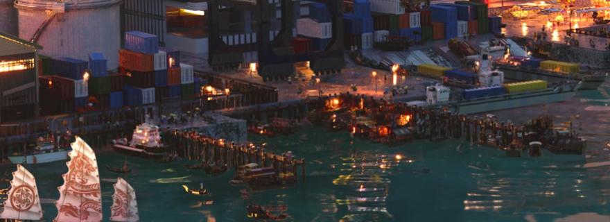 LEGO Ninjago Movie City Docks @Brick Fanatics