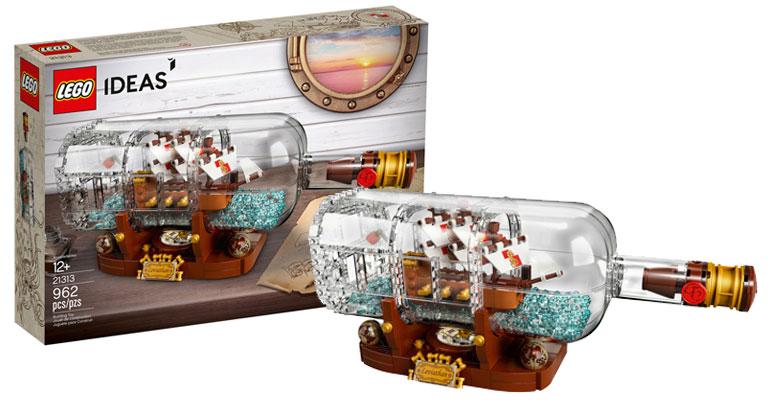 brickfinder lego ideas ship in a bottle 21313 official. Black Bedroom Furniture Sets. Home Design Ideas