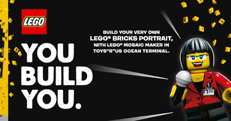 LEGO Mosaic Maker Hong Kong TRU