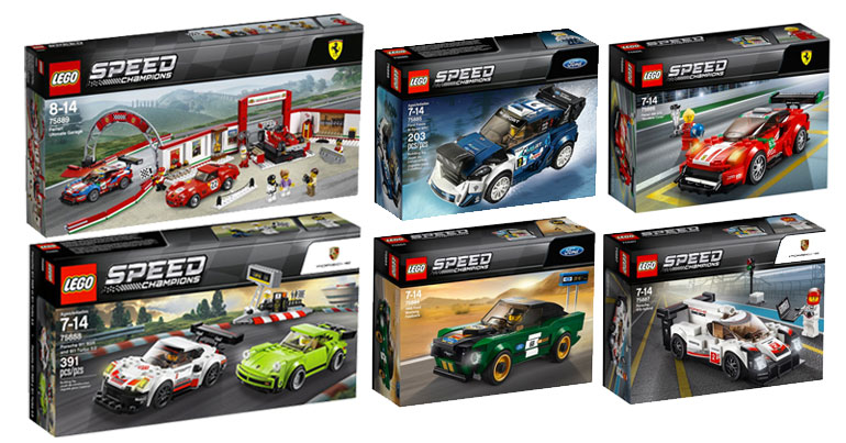 Brickfinder Lego Speed Champions 2018 Official First Look
