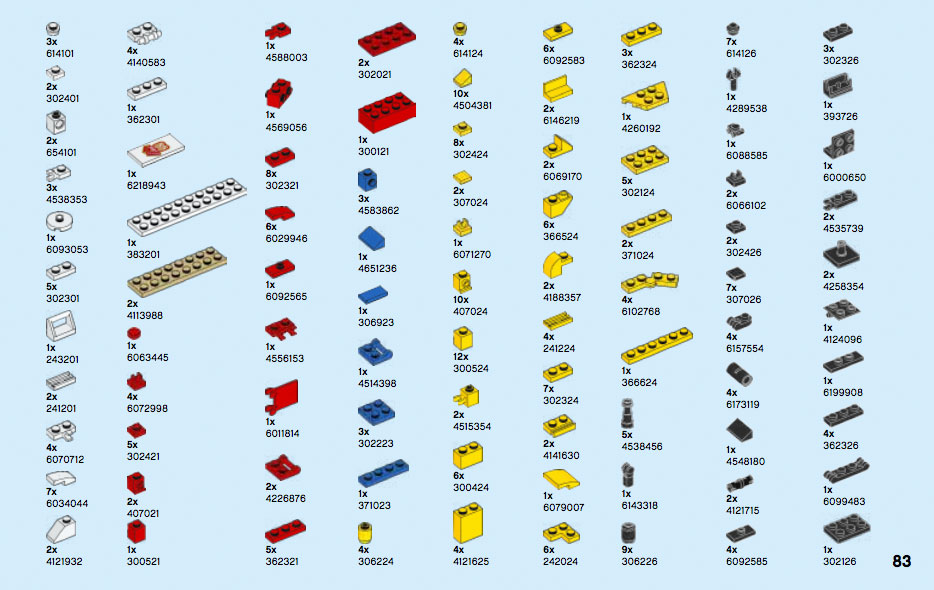 Brickfinder 60 Years Of The Lego Brick 40290