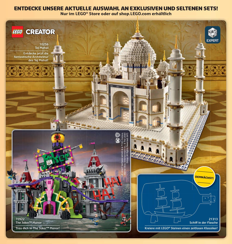 LEGO Brand Store Calendar germany