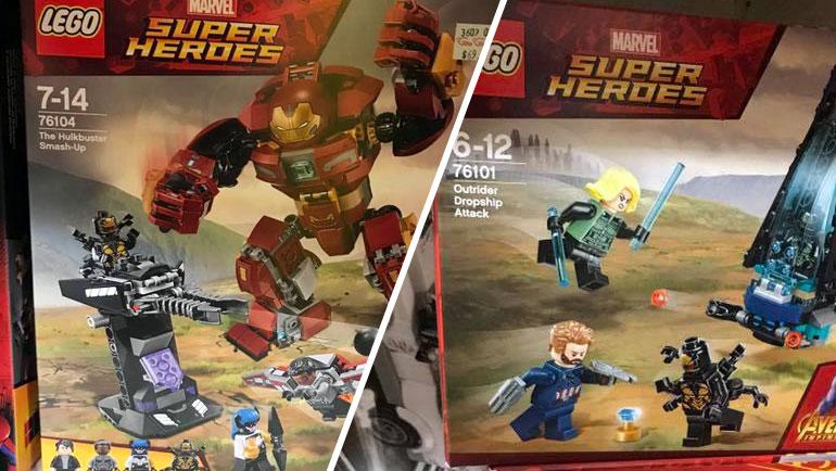 LEGO Marvel Infinity War