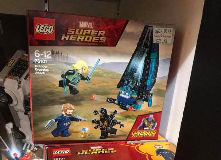 LEGO Marvel Superheroes Outrider Dropship Attack (76101) @Ng Kokyong