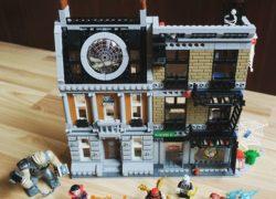 LEGO Marvel Superheroes Sanctum Santorum 76108