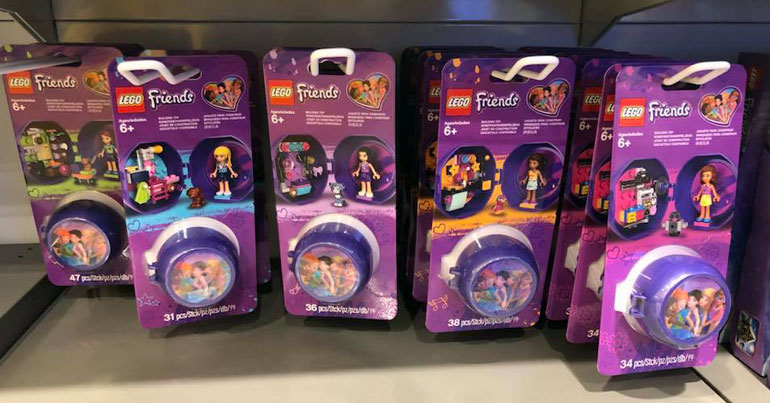 Brickfinder - Five New LEGO Friends Pods Spotted in Hong Kong!
