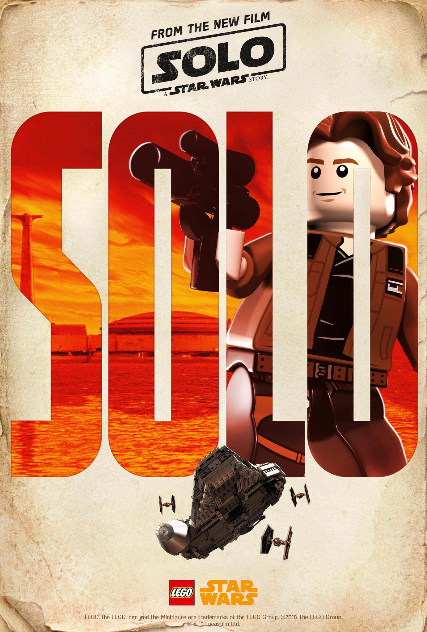LEGO Solo: A Star Wars Story poster