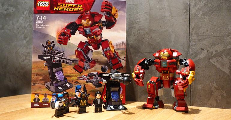 LEGO Marvel Hulkbuster Smash-up (76104)