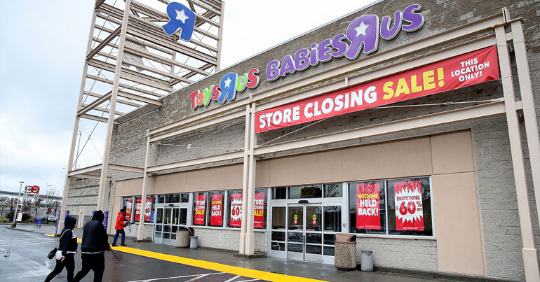 Toys r us closing down