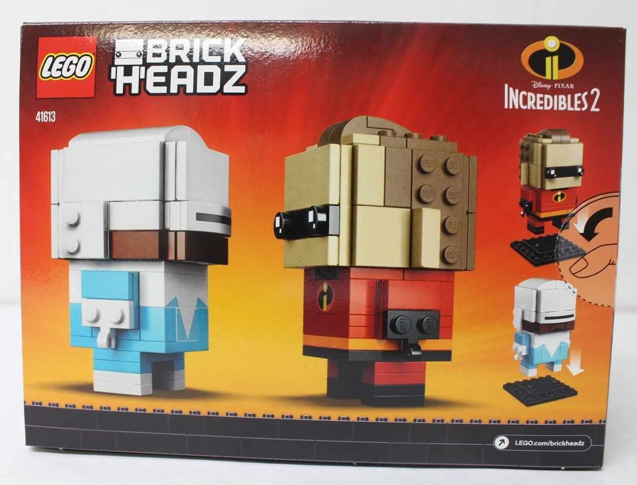 LEGO BrickHeadz Incredible 2 Mr. Incredible & Frozon (41613)