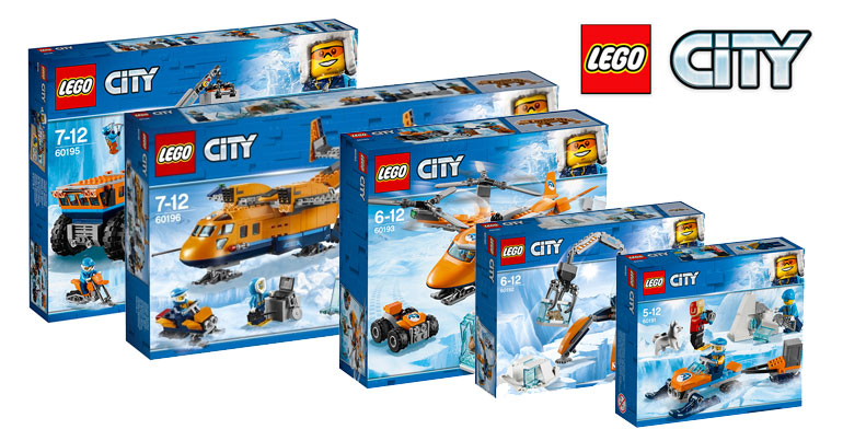 LEGO City summer 2018