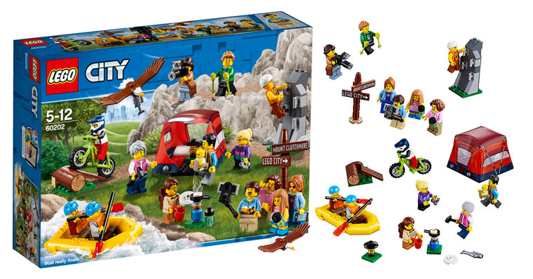 LEGO City People Pack – Outdoor Adventures (60202)