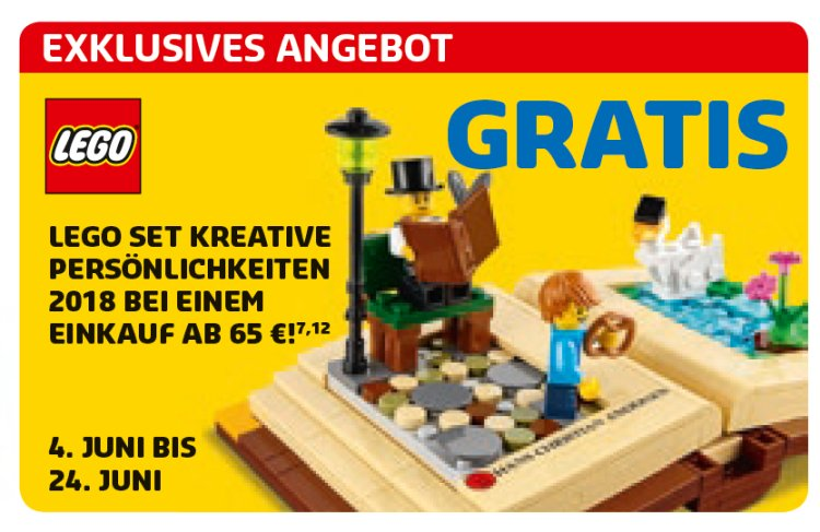 LEGO 40291 Creative personalities Hans Christian Andersen