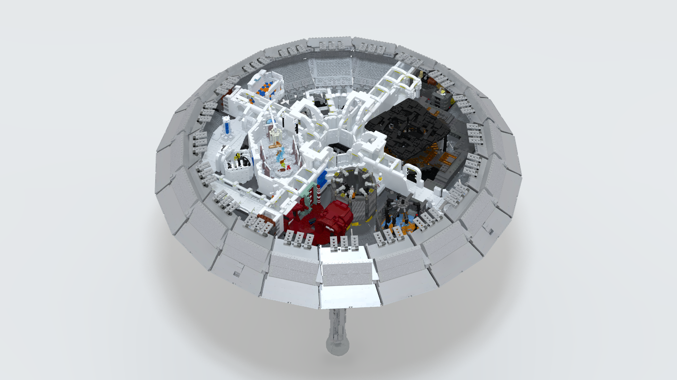 LEGO Cloud City MOC