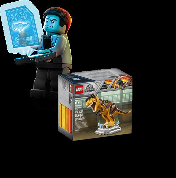Brickfinder - Win the Exclusive LEGO Jurassic World T-Rex (4000031)!