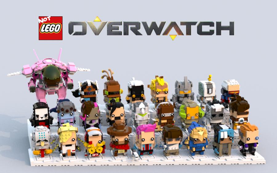 LEGO Overwatch BrickHeadz