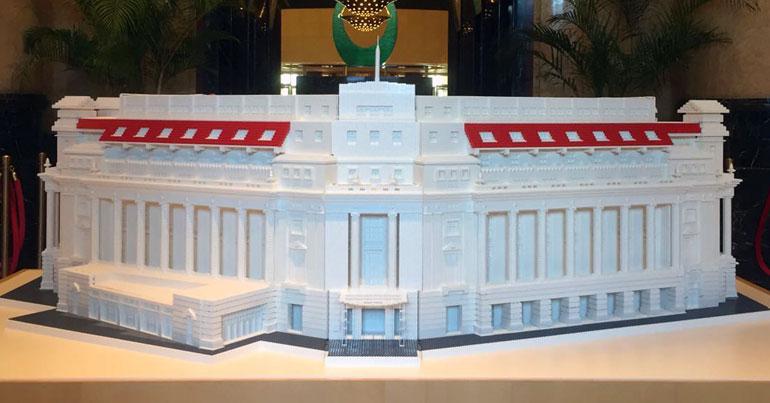 Fullerton building LEGO