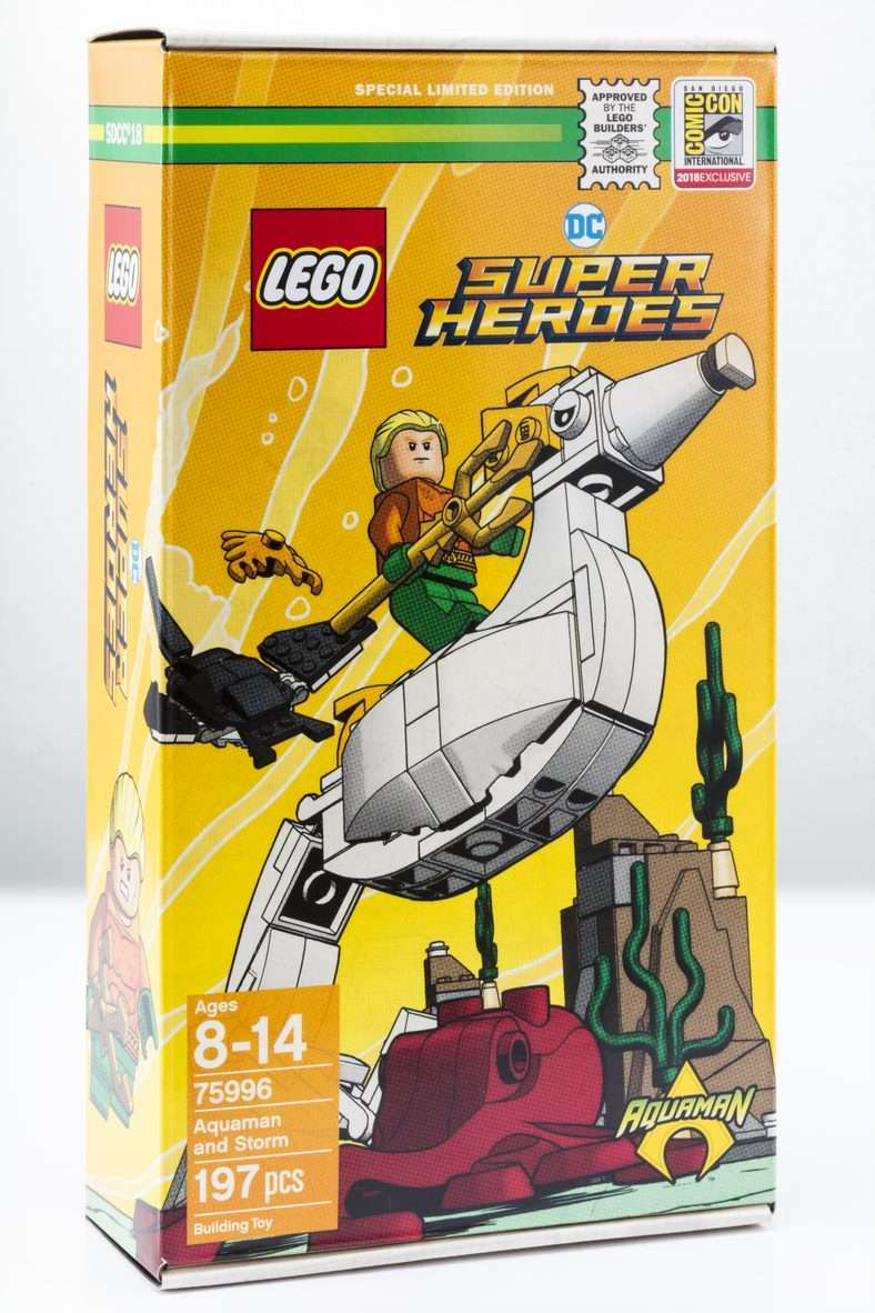 LEGO DC Comics Super Heroes Aquaman and Storm (75996) 05