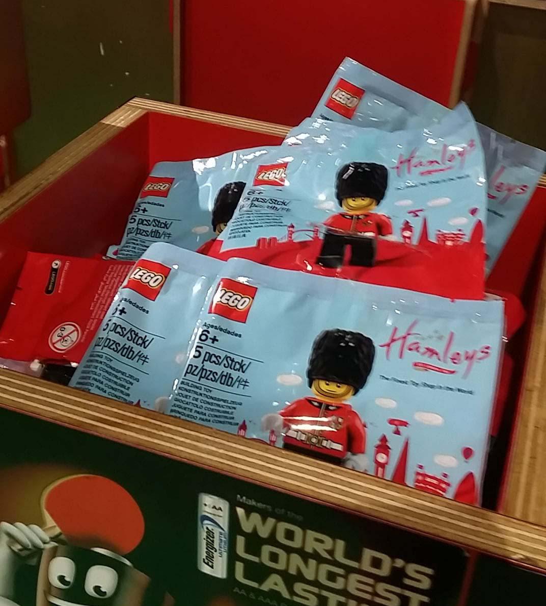 LEGO hamleys royal guard minifigure singapore brickfinder 03