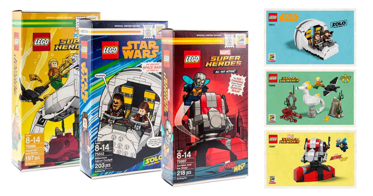 SDCC-LEGO-Exclusive-instructions