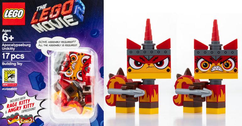 Brickfinder Lego Movie 2 Apocalypseburg Unikitty Revealed