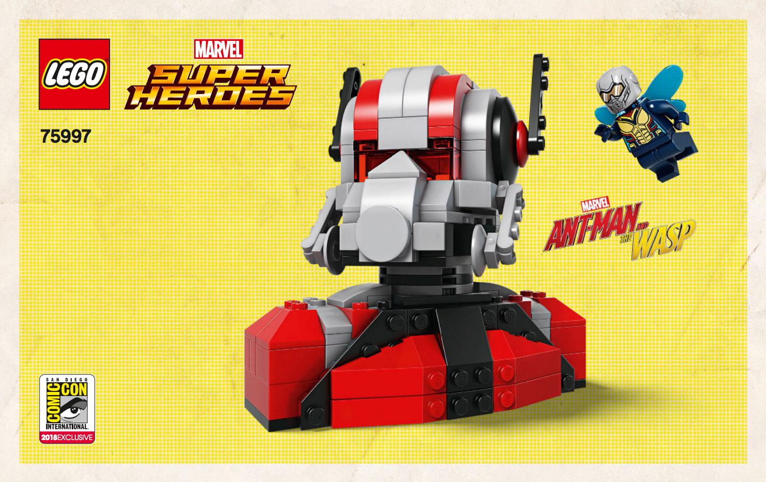 Brickfinder - SDCC Exclusive LEGO Instructions Released!