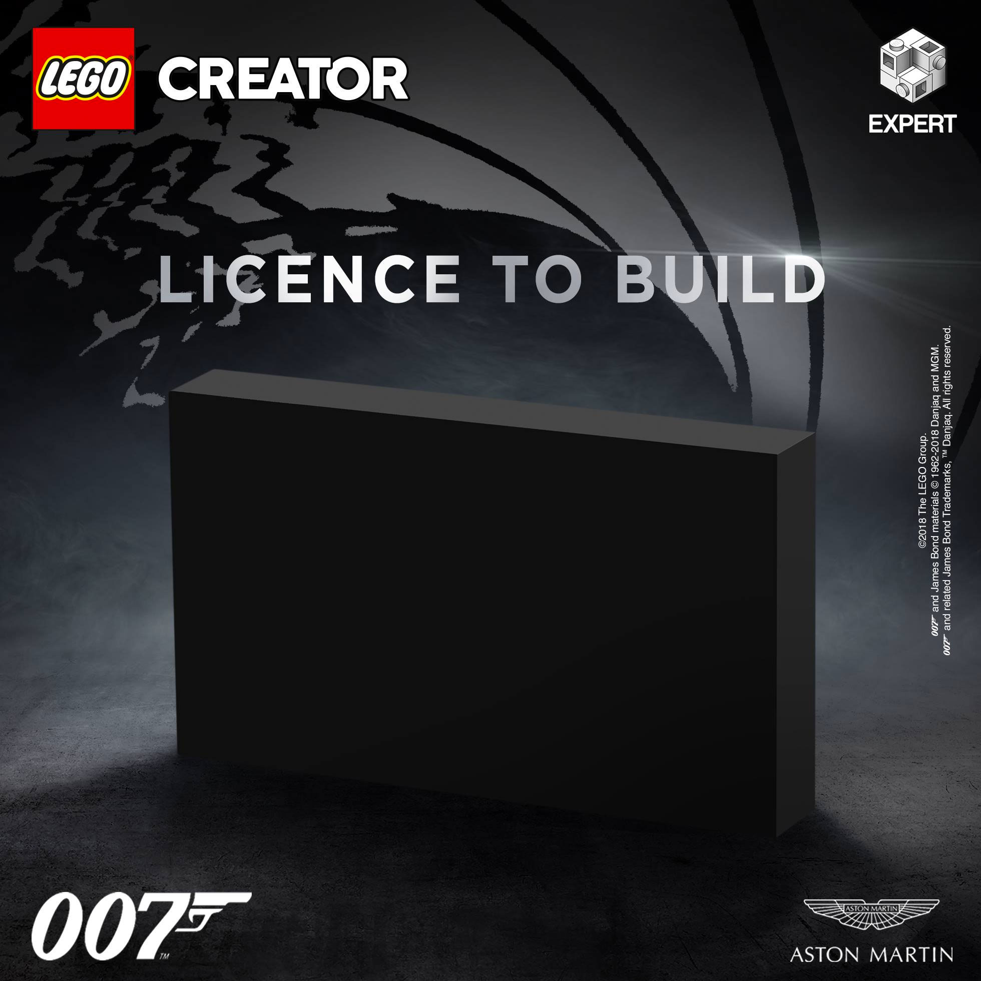 LEGO Creator Expert Aston Martin box teaser