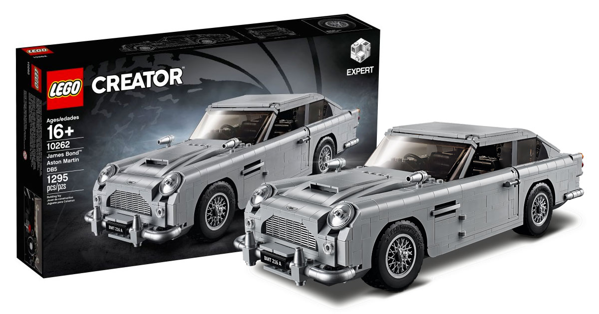 Brickfinder Lego Creator James Bond Aston Martin Db5