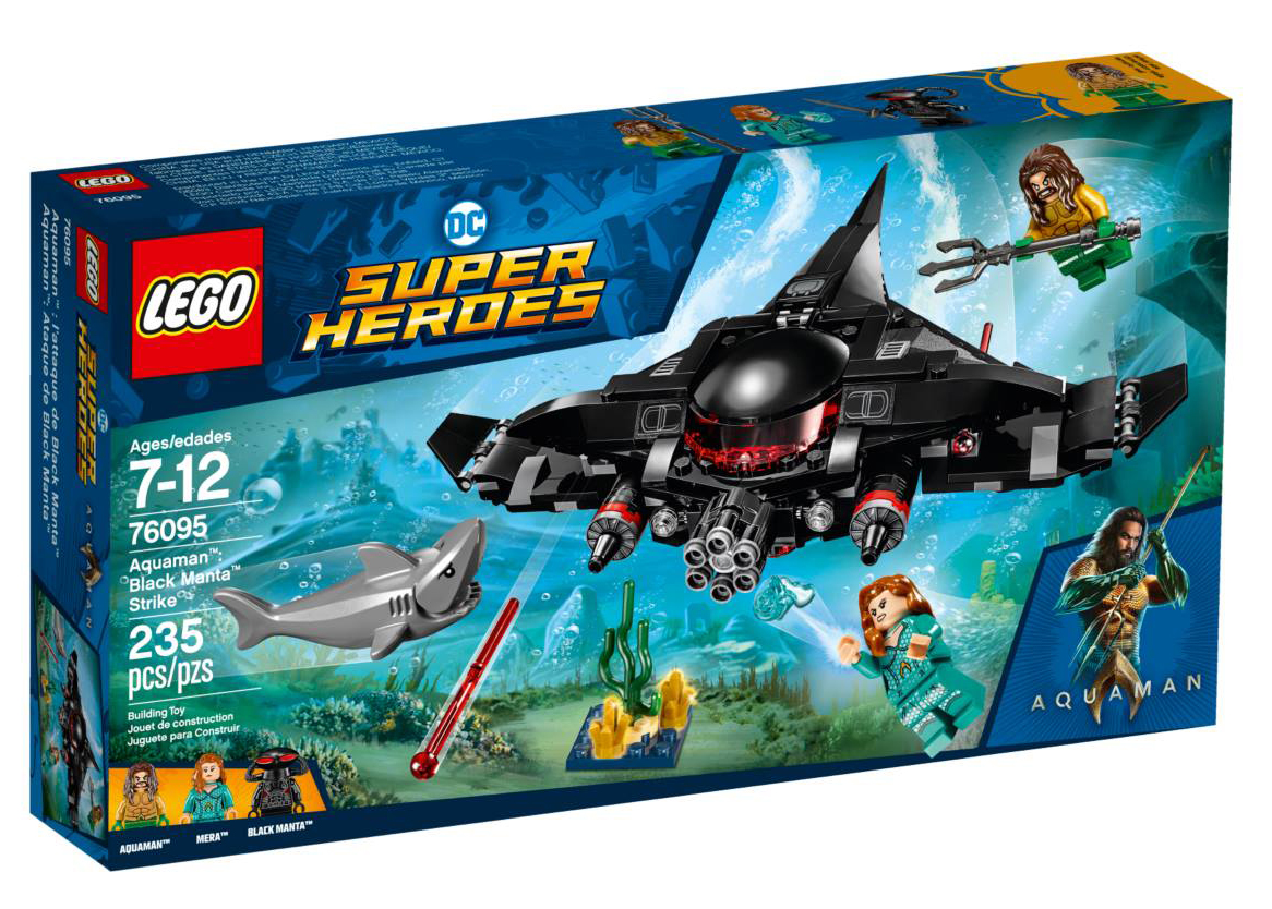 lego dc superheroes black manta strike box art