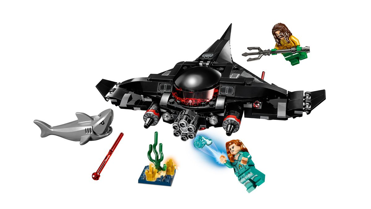 lego dc superheroes black manta strike