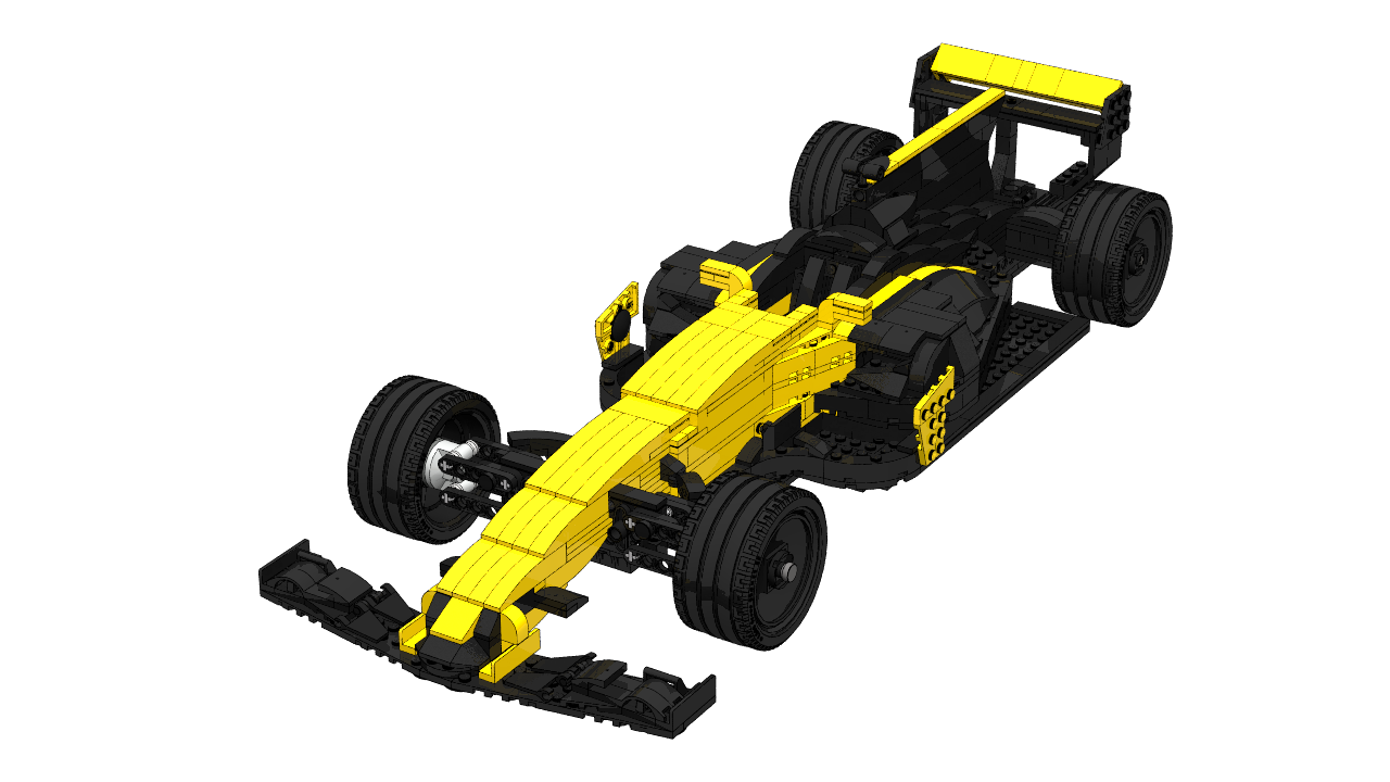 LEGO Renault rs17 creator