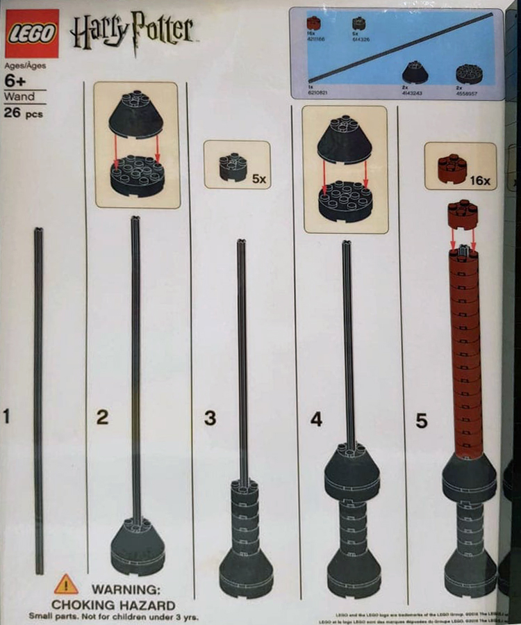 LEGO-Harry-Potter-wand-build