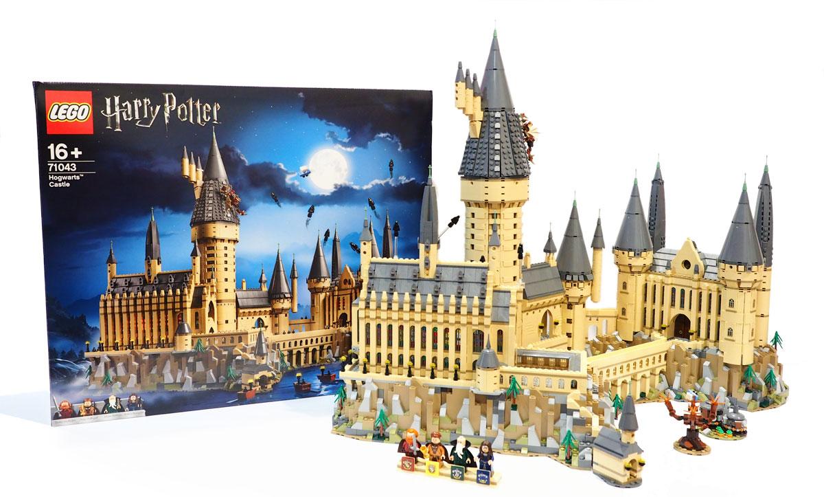 brickfinder review lego harry potter hogwarts castle 71043. Black Bedroom Furniture Sets. Home Design Ideas