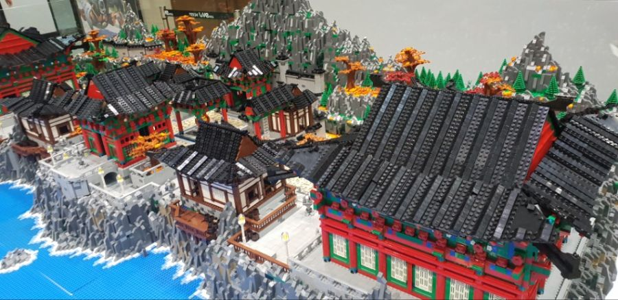 LEGO Overwatch Busan Map
