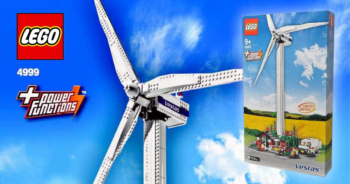 Brickfinder - LEGO Vestas Wind Turbine (4999) Possible Re
