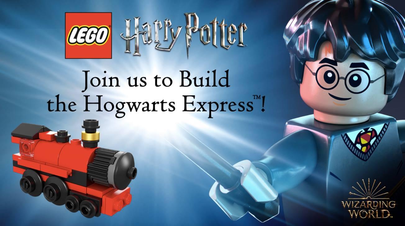 Mini LEGO Hogwarts Express Barnes and Noble