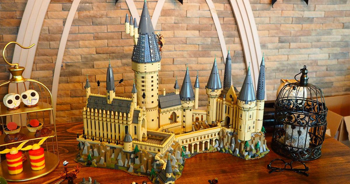 brickfinder lego hogwarts castle 71043 singapore launch event. Black Bedroom Furniture Sets. Home Design Ideas