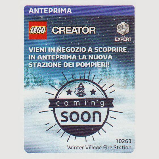 LEGO Creator Winter Village Fire Station