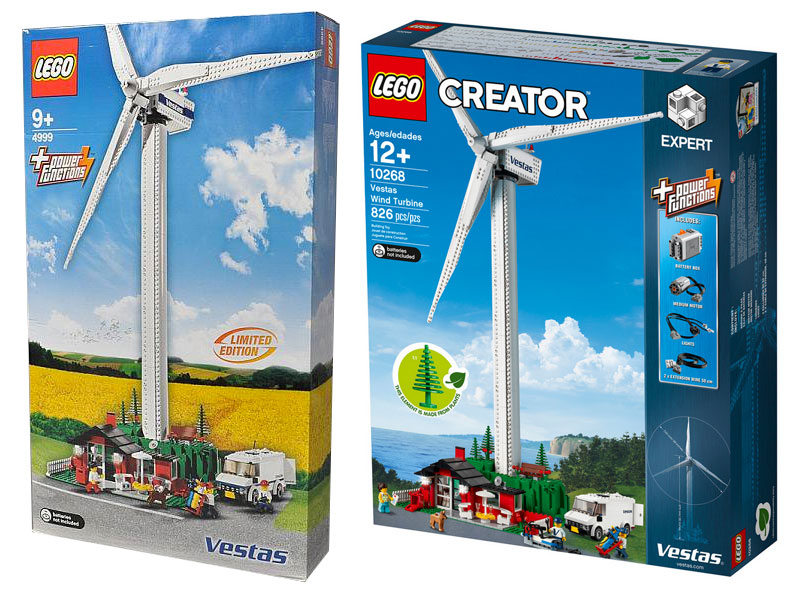Brickfinder - LEGO® Creator Expert Vestas® Wind Turbine