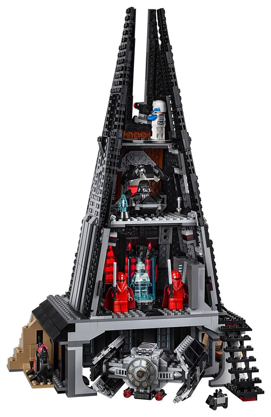 lego darth vaders castle 75251