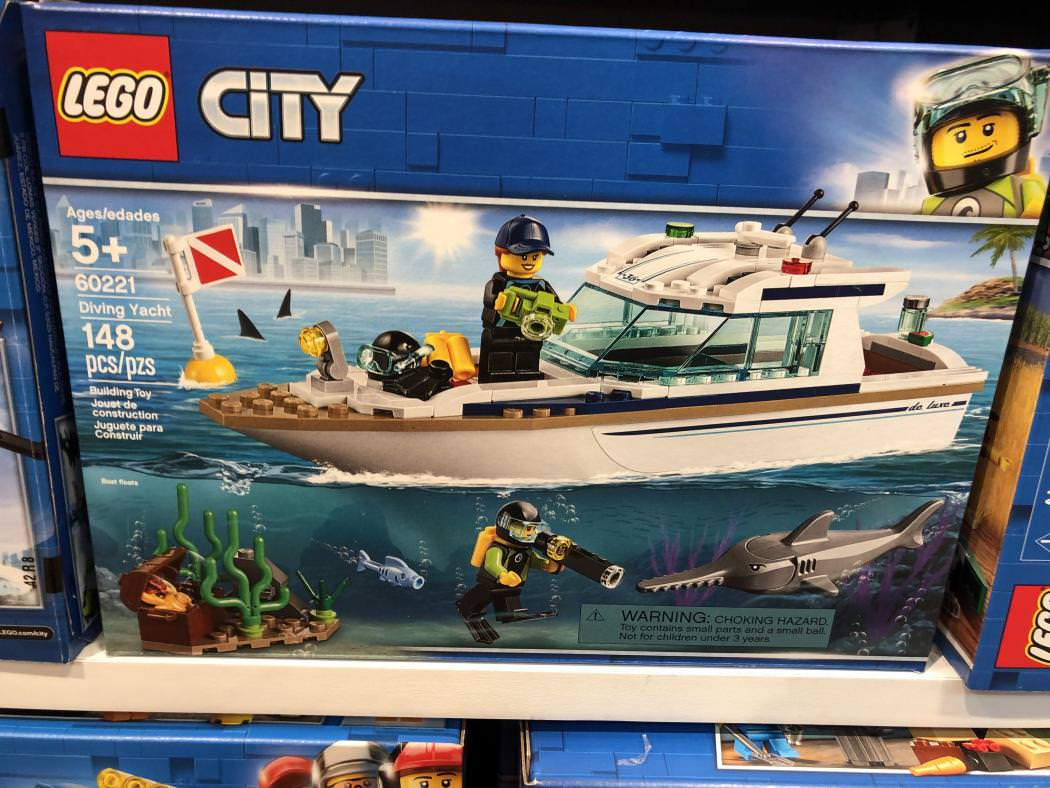 Diving Yacht (60221)