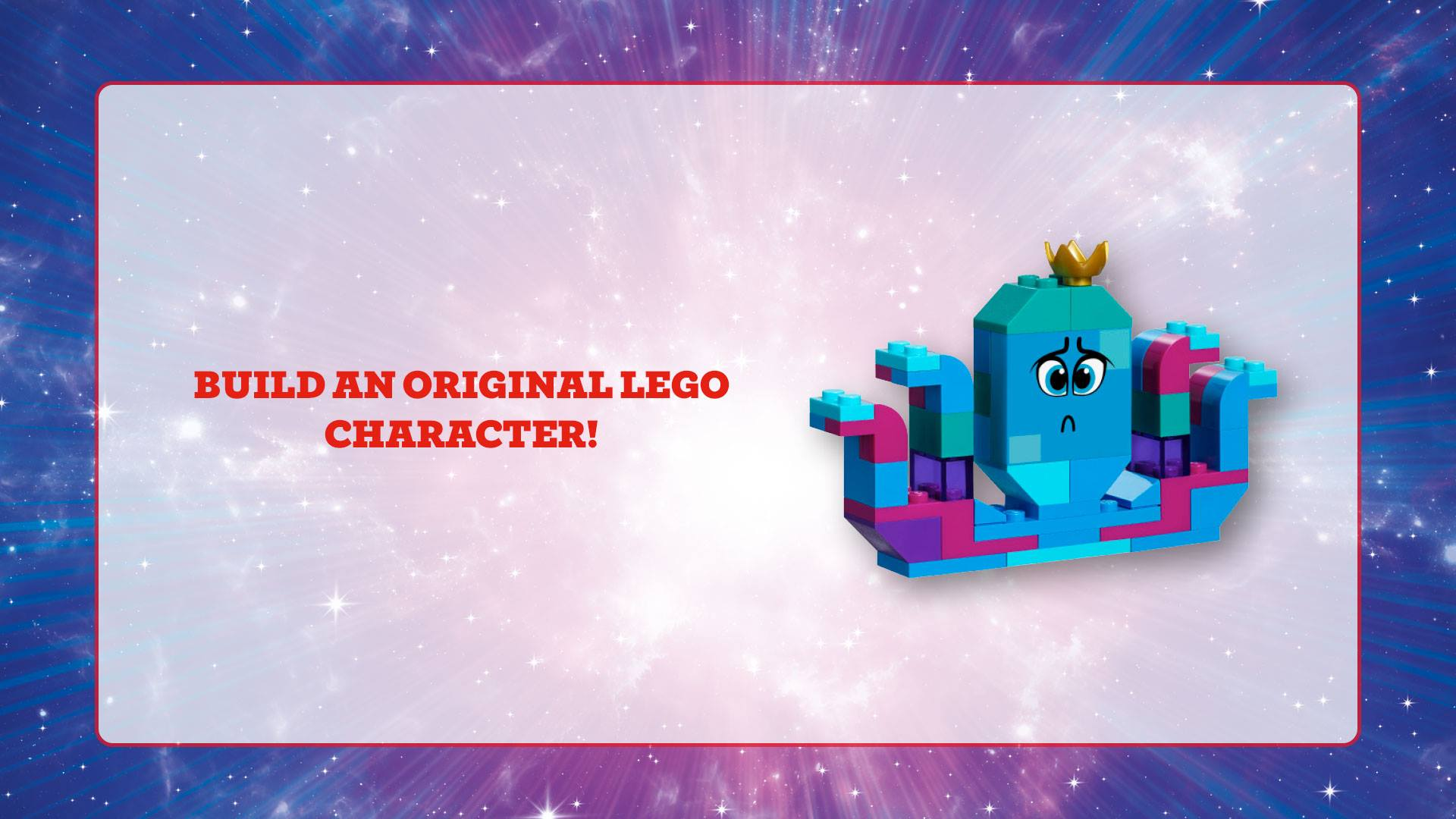 build an original lego character