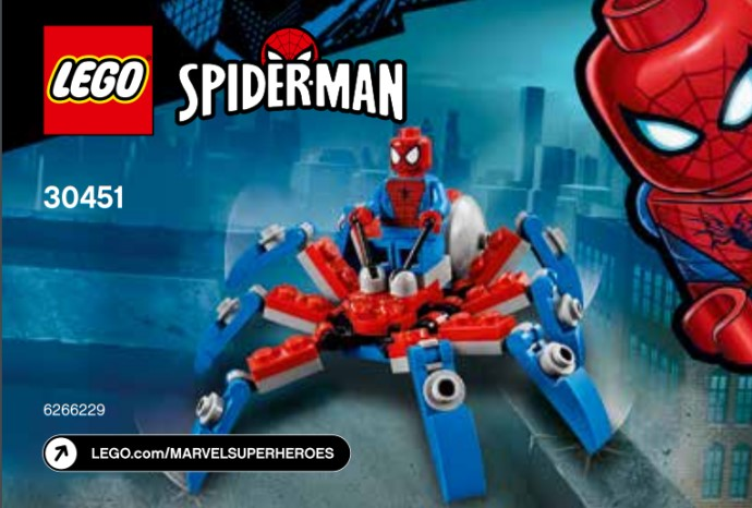 30451- Spider-Man's Mini Spider Crawler