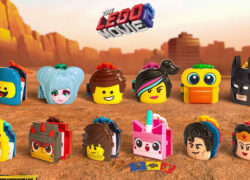 Complete list of LEGO Movie 2 MacDonalds Toys  ©Fast Food Toys
