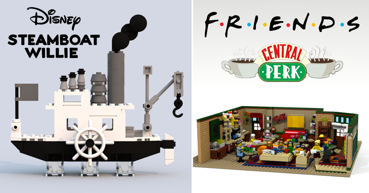 lego-ideas-2018-results-steamboat-willie-friends-central-perk