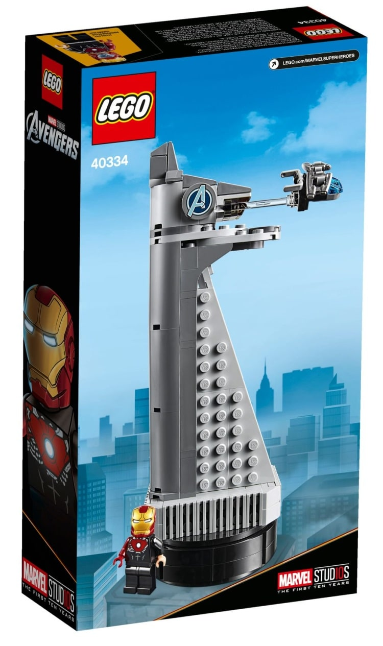 Brickfinder - LEGO Avengers Tower (40334) Official Images!