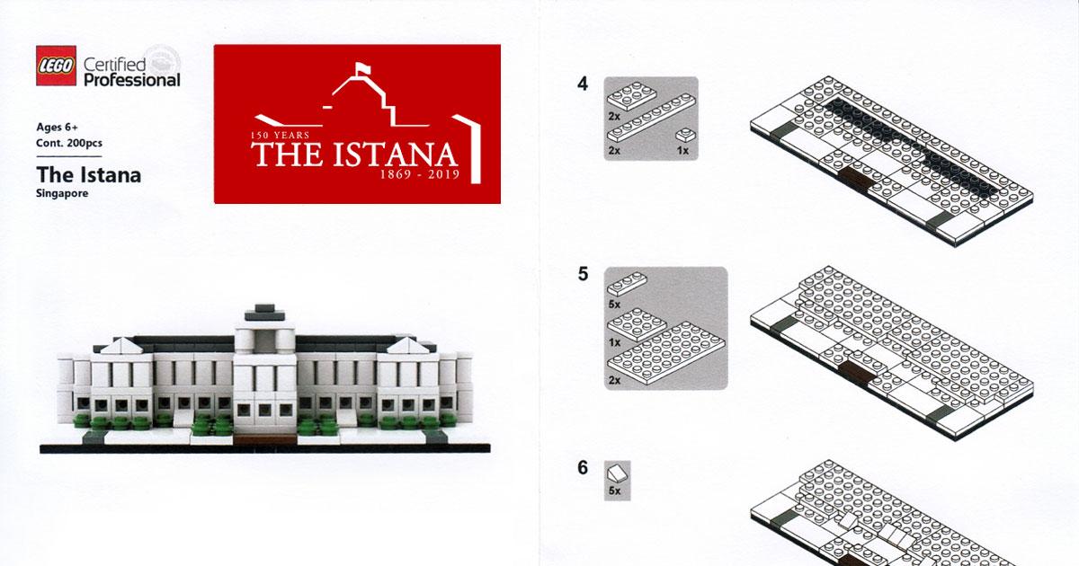 LEGO-Istana-Instrucitons